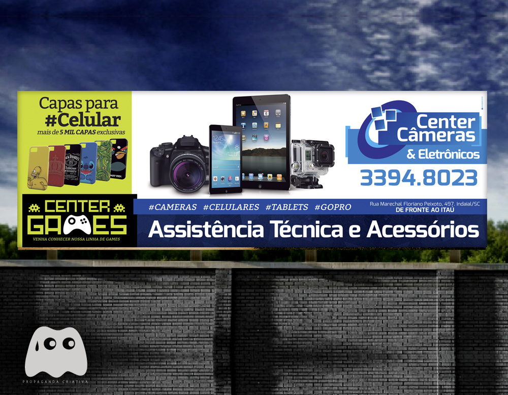 Center Cameras - Outdoor Assistencia Tecnica Celular, Cameras, Tables, Gopro