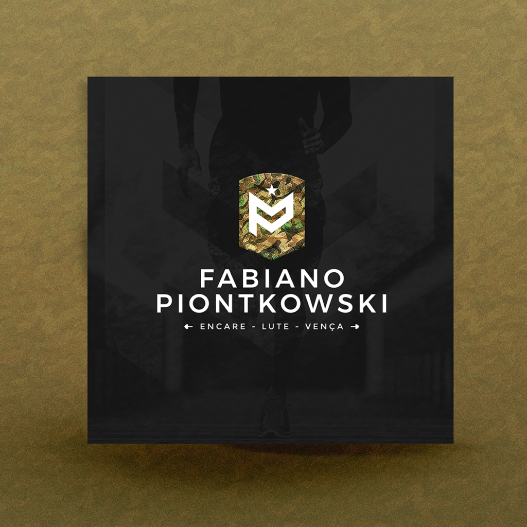 Fabiano Personal Trainer, Identidade visual, Material Flyer Para Instagram e Facebook