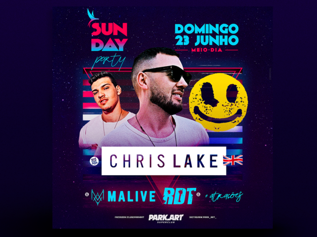 Sunday com Chris Lake no ParkArt
